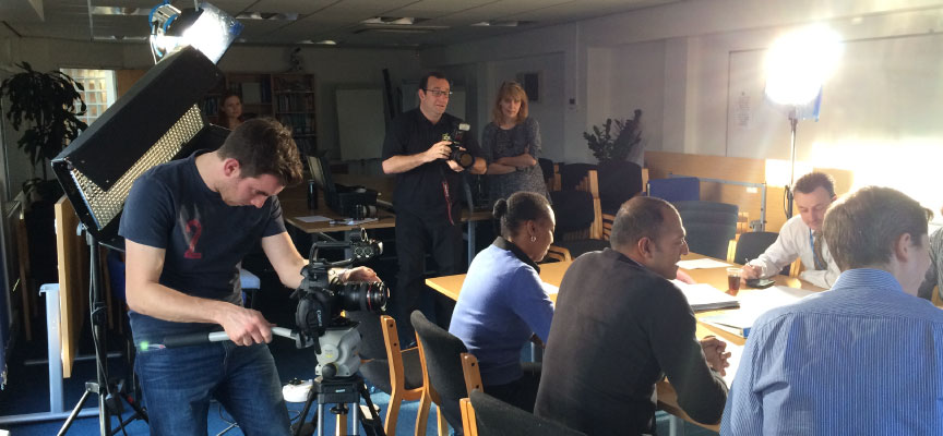 Production Diary February 2nd – GP Video Shoot