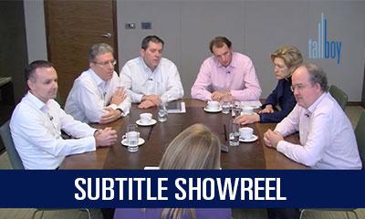 Showreel – Subtitles