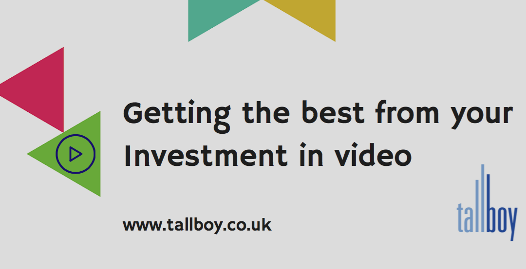 Download our Guide – Getting ROI from your Video Investment
