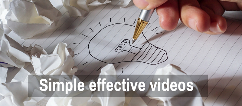 Simple and effective video for your website