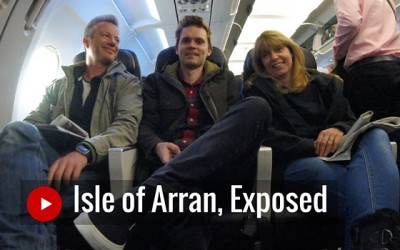 Behind the scenes on the Isle of Arran