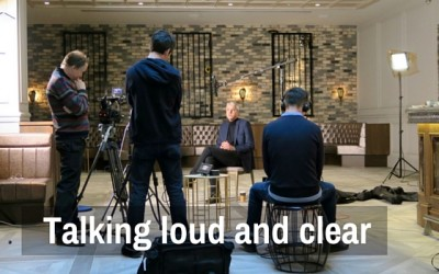 Talking loud and clear – The Interview