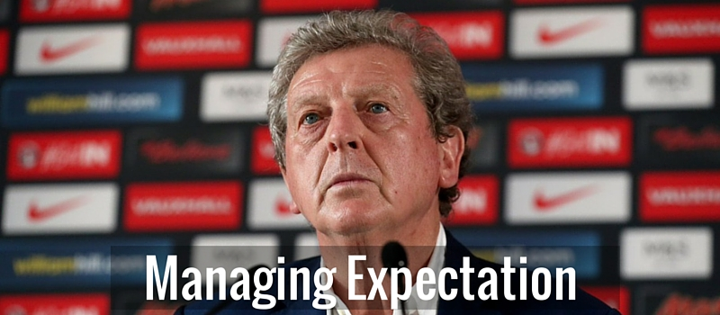 Managing Expectation