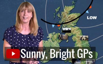 Sunny, bright GPs