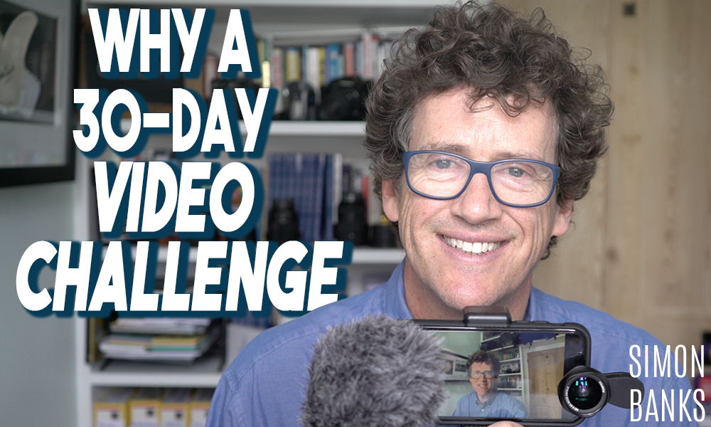 Why a 30 day video challenge
