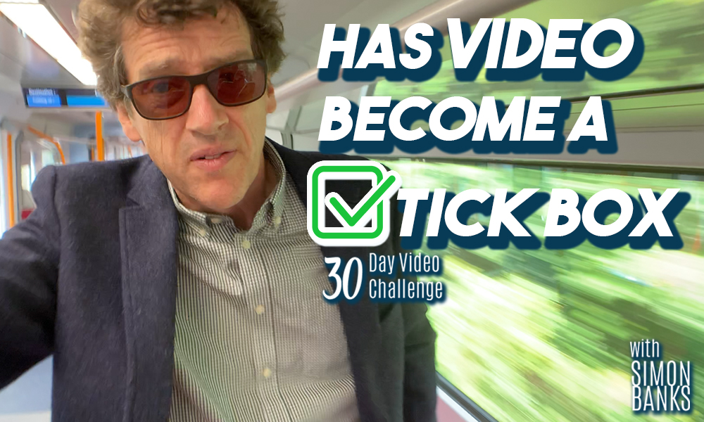 Has video become a tick box exercise