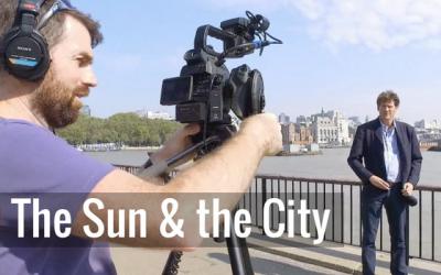 The sun, the city and Simon