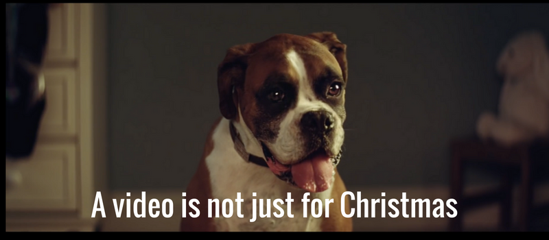 A video is not just for Christmas – make your video a cracker not a turkey